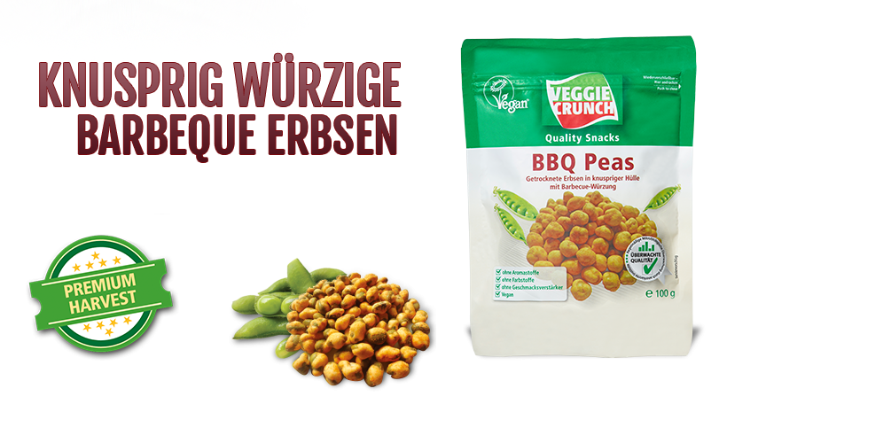 Barbecue Erbsen